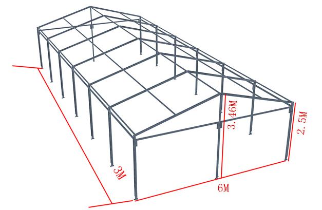 篷房框架图